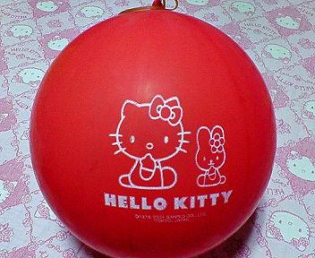 キティちゃん風船