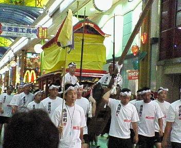 西浜町 龍船