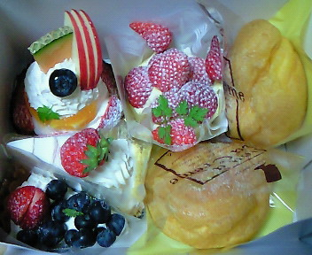 サン・ミシェルのケーキ