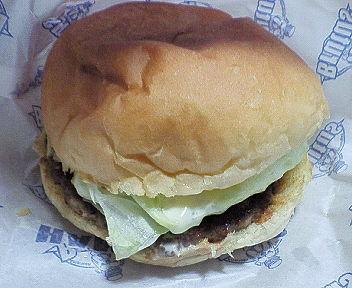 佐世保バーガー「ブルータス」ハンバーガー