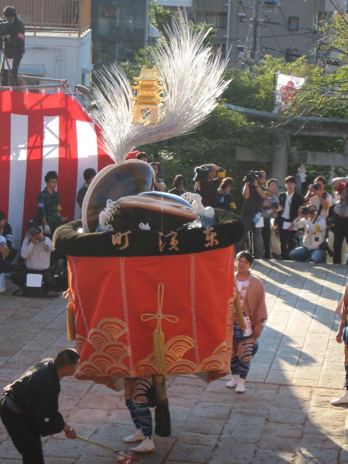 東濱町「傘鉾」