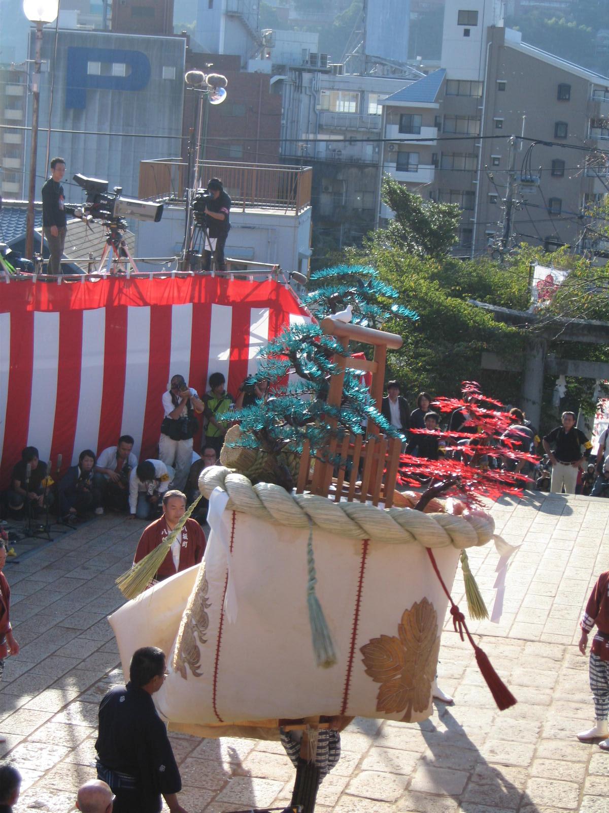 八坂町「傘鉾」