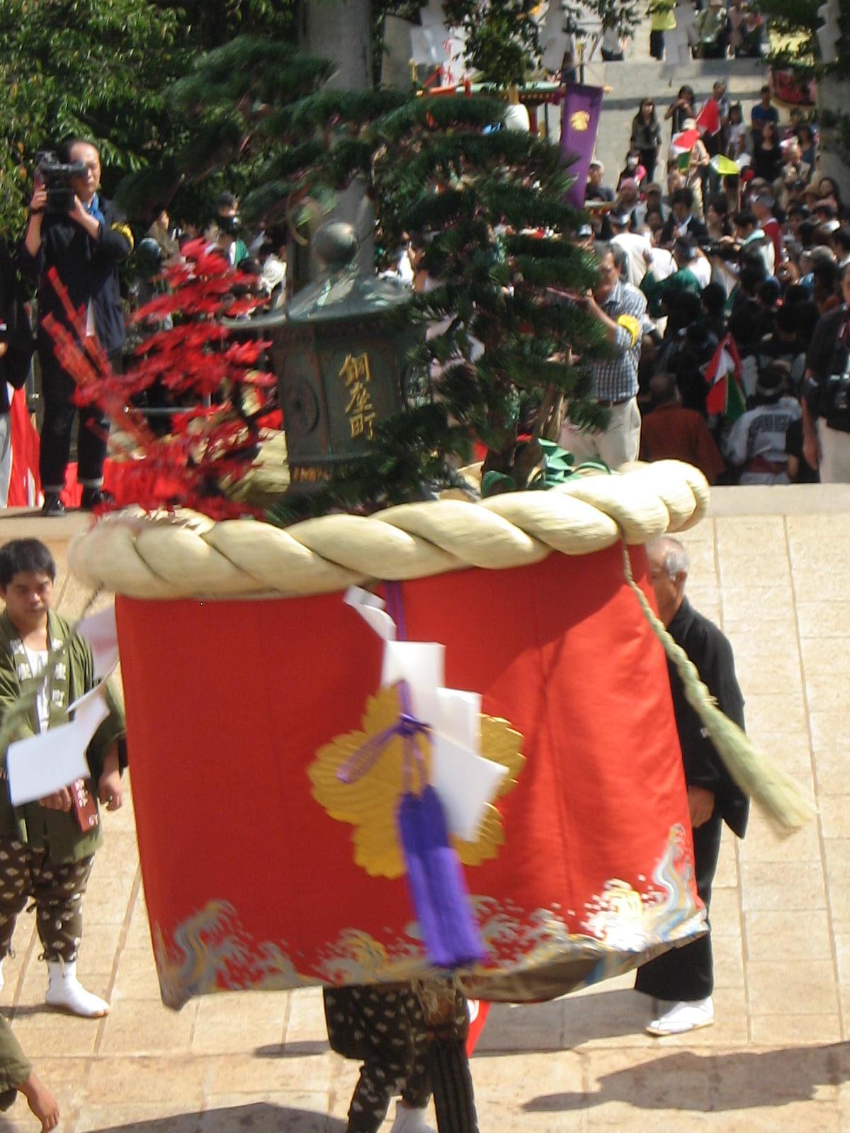 銅座町「傘鉾」