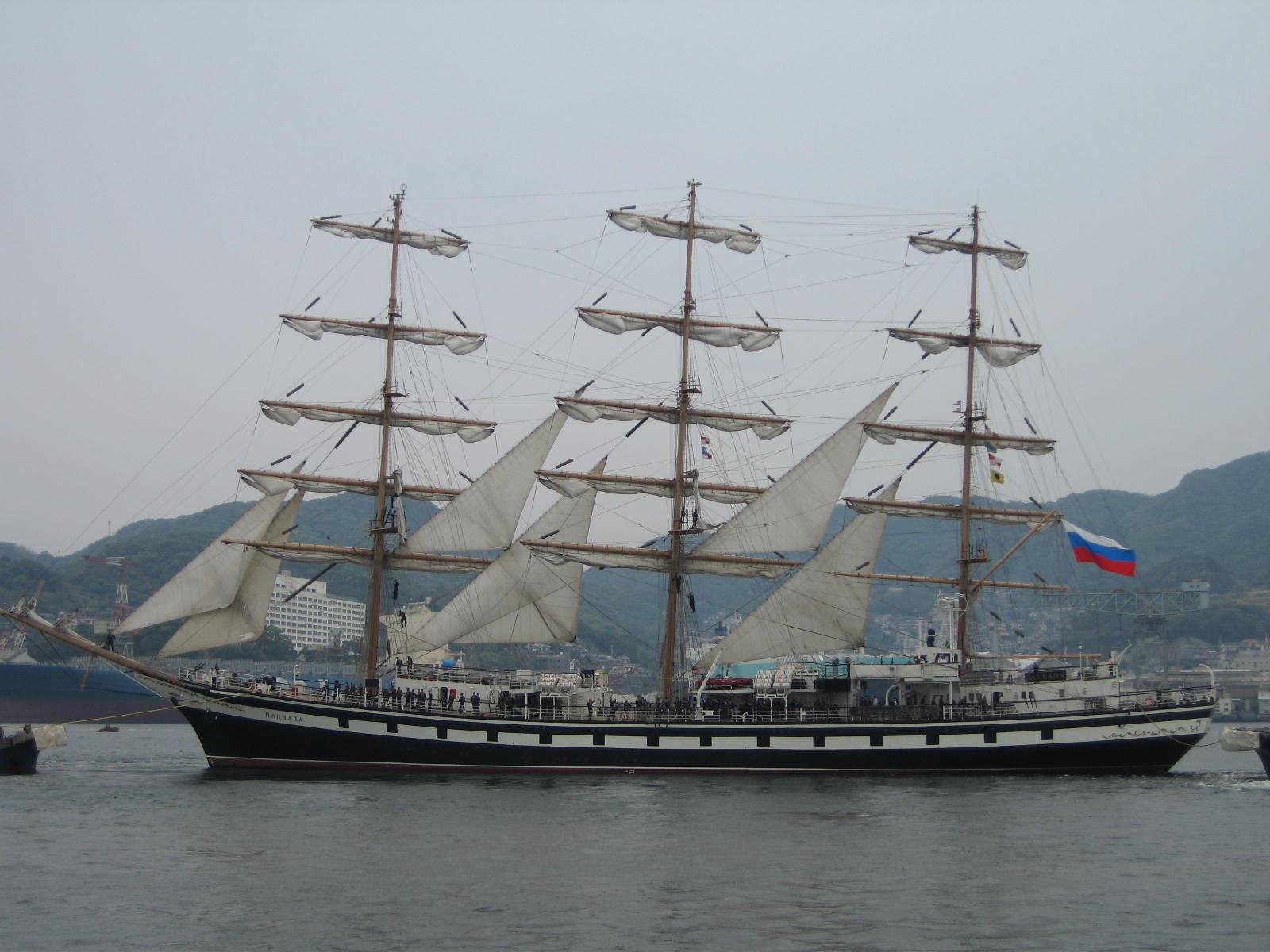 ロシア船「パラダ」
