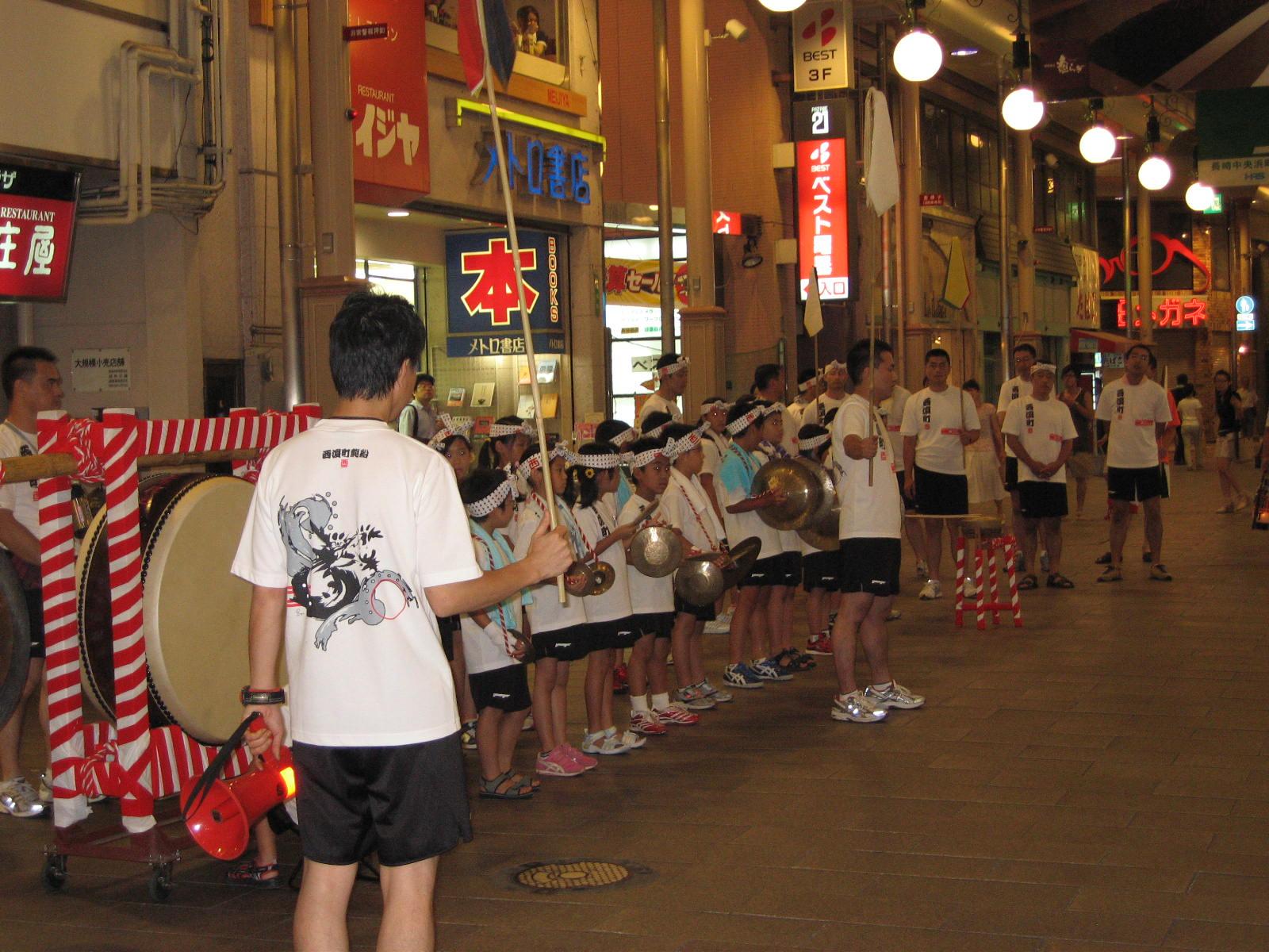 西浜町 お囃子の練習