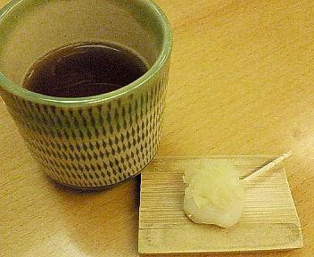お茶と団子
