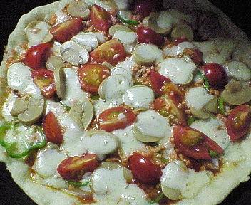 フライパンピザ