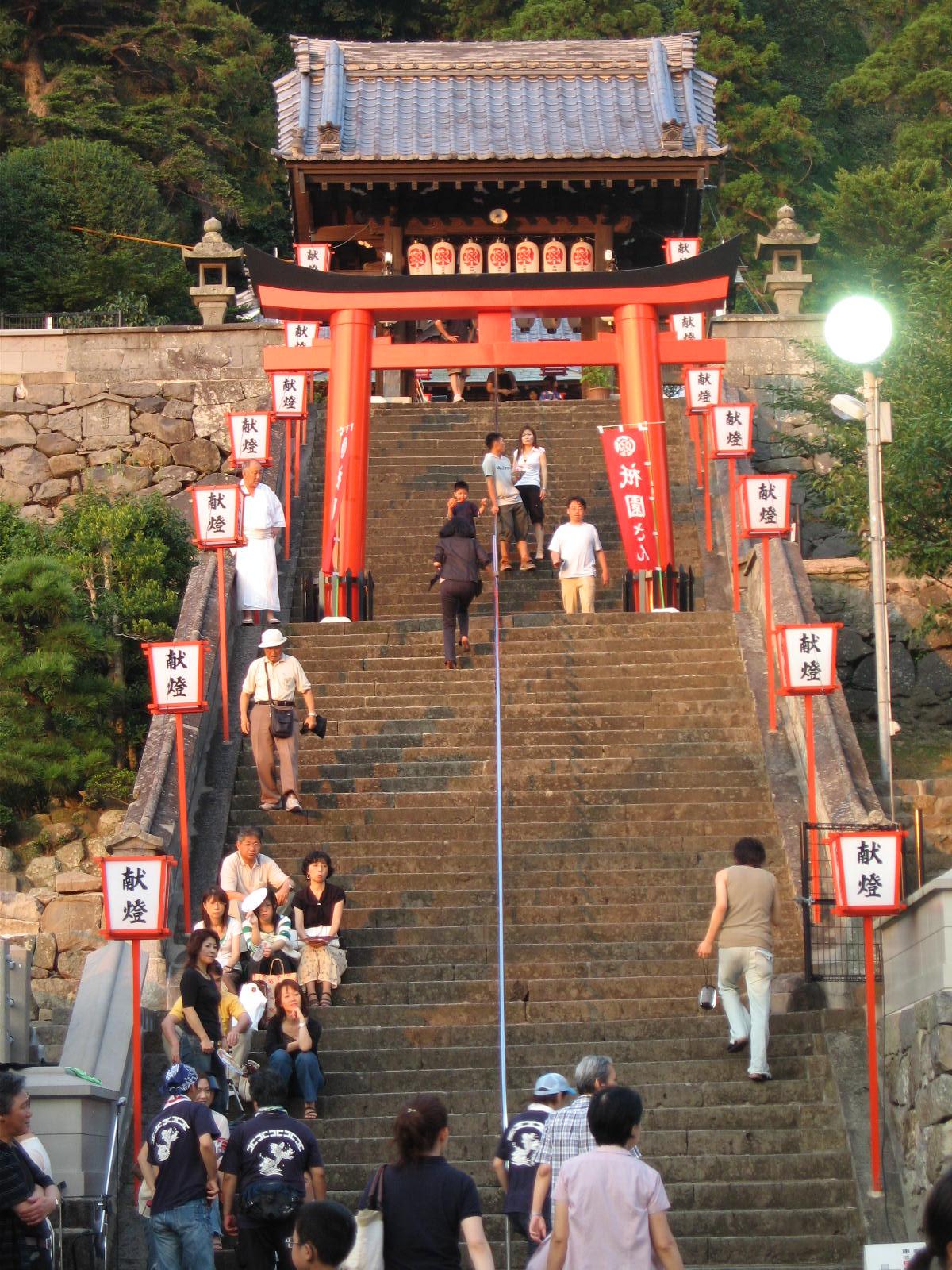 八坂神社の長坂